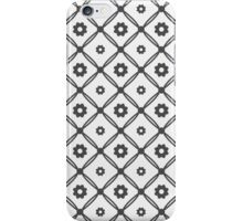 Seamless floral tiling pattern iPhone Case/Skin