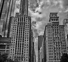 Michigan Ave. B/W by Adam Northam