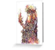 There will come soft Rains Greeting Card