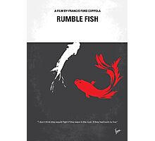 No073 My Rumble fish minimal movie poster Photographic Print