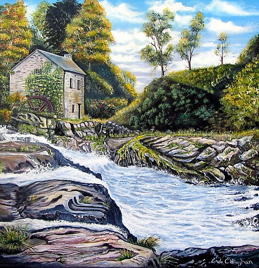 The Mill on the River by Linda Callaghan