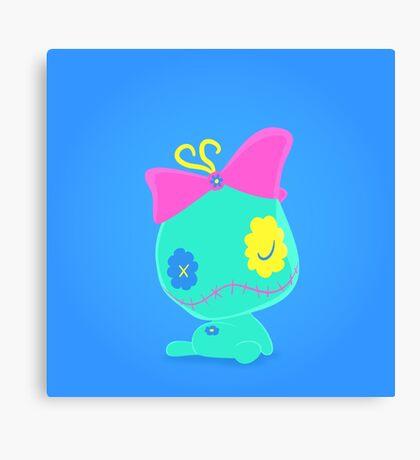 Scrump Popmuerto 2017   Lilo & Stitch Canvas Print