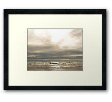 Gilted Shores Framed Print