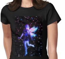Fantasy Fairy in the Stars 3 Womens Fitted T-Shirt