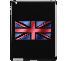 British Flag - UK - Metallic iPad Case/Skin