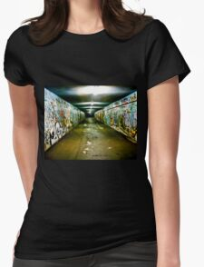 Tunnel Vision Womens Fitted T-Shirt