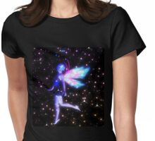 Fantasy Fairy in the Stars 4 Womens Fitted T-Shirt