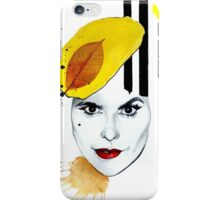 Yellow hat.(Paloma Faith) iPhone Case/Skin
