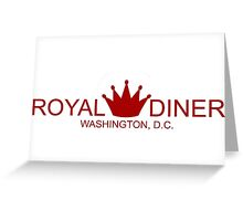 Bones Royal Diner, Washington DC Greeting Card