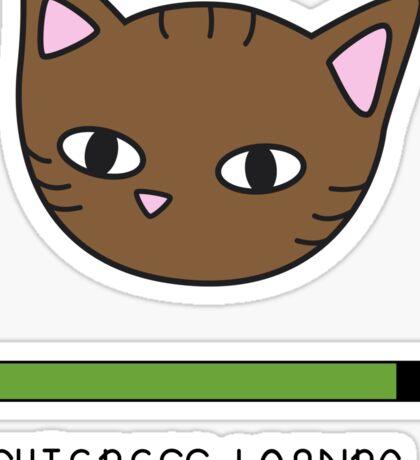 Cuteness loading... Sticker