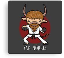 Yak Norris Canvas Print