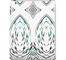 Modern Mirror Folk Geometric Pattern iPad Case/Skin