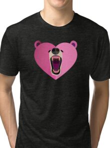 Bear Heart! Tri-blend T-Shirt