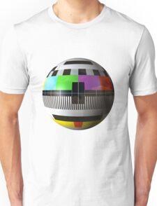 3D TV test pattern  Unisex T-Shirt