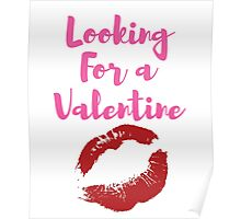 Looking For A Valentine Poster