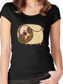 Puglie Burrito Women's Fitted Scoop T-Shirt