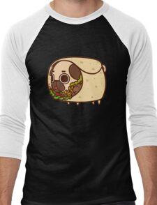 Puglie Burrito Men's Baseball ¾ T-Shirt