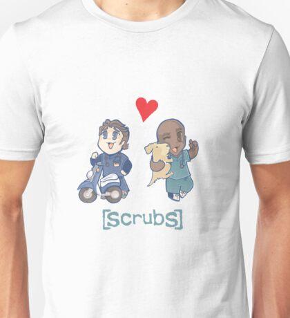 Scrubs, JD&Turk in love Unisex T-Shirt