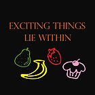 Exciting Things Lie Within by CreativeEm
