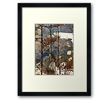 canadian frontiers 4 Framed Print