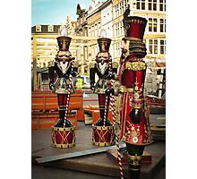 Christmas Soldiers Photographic Print