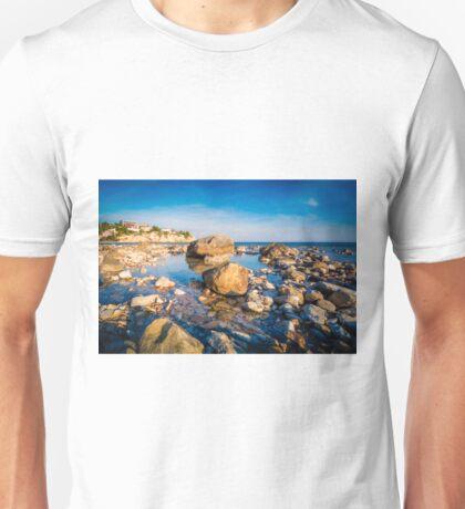 Rocks on Amerador Beach El Campello Unisex T-Shirt