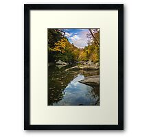 McConnell's Mill in Autumn (2) Framed Print