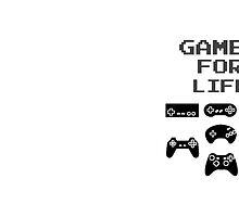 Gamer For Life  (Mugs & Travel Mugs) by PopCultFanatics