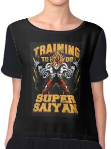 super-saiyan Chiffon Top