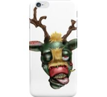 zombie rudolph iPhone Case/Skin