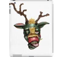 zombie rudolph iPad Case/Skin