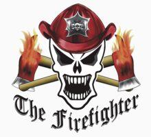 Firefighter Skull 2.5 Kids Tee