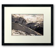 Blackcomb Boundary, Disease Ridge & Fissile Framed Print