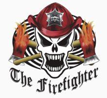 Firefighter Skull 2.8 One Piece - Short Sleeve