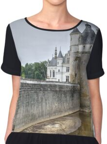 Chateau De Chenonceau Chiffon Top