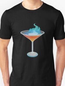 Glitch Drinks flaming humbaba Unisex T-Shirt