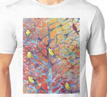 Goldfinch Bush Unisex T-Shirt