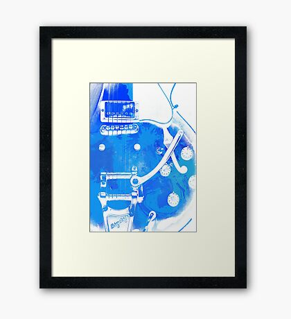 Gibson Electric Guitar Framed Print