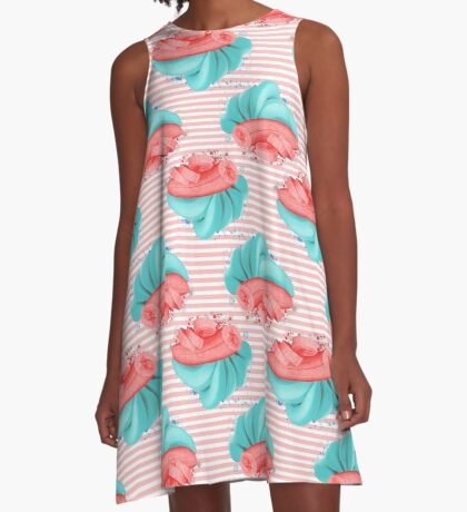 Bananas A-Line Dress