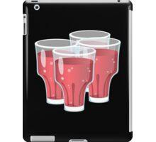 Glitch Drinks fruity juice iPad Case/Skin