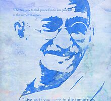 Mahatma Gandhi and some his quotes by Pranatheory