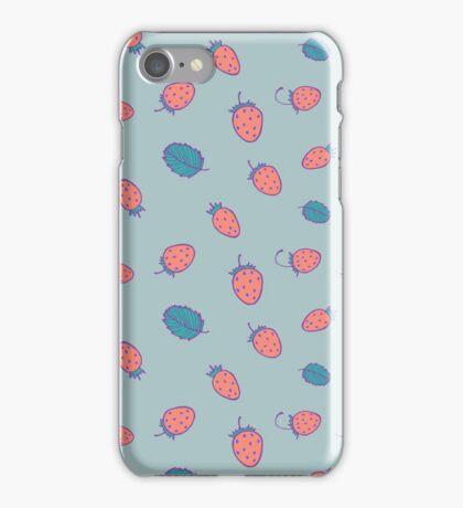 Little strawberries iPhone Case/Skin