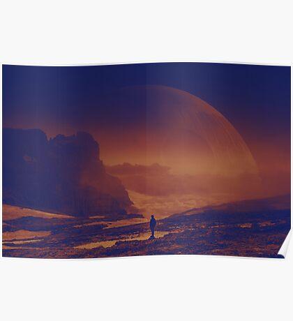 Look at the horizon Poster