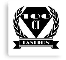 100ct Fashion Promo Items Canvas Print