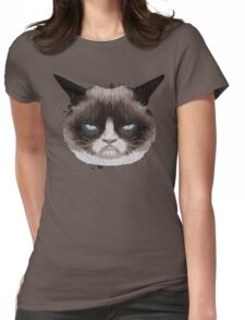 mad cat Womens Fitted T-Shirt