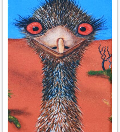 Emu 2 Sticker