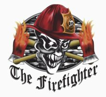Firefighter Skull 5.3 Kids Tee