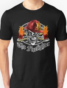 Firefighter Skull 5.3 T-Shirt