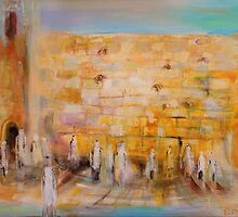 The Western Wall by Elena Kotliarker
