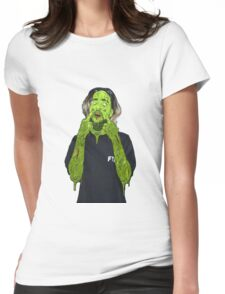 Scrim $uicideBoy$ Green Womens Fitted T-Shirt